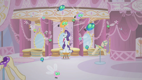 Rarity Screaming harder S01E10.png