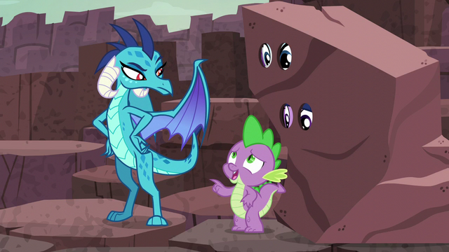 "File:Spike ""Another reason why I shouldn't compete"" S6E5.png"