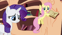 Fluttershy tries to explain what the Alicorn amulet does S3E05