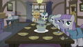 Pie family at the dinner table S5E20.png