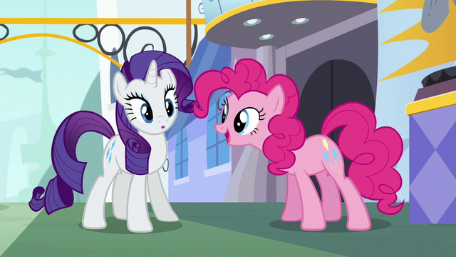 File:Pinkie Pie interrupting Rarity S6E12.png