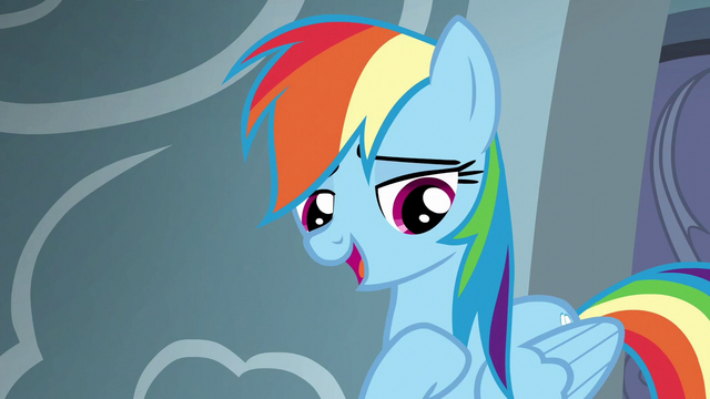 "File:Rainbow Dash ""the top of the Reserve list"" S6E7.png"