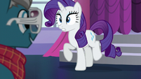 Rarity meets Fashion Plate S5E14