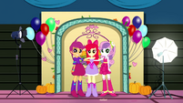 Cutie Mark Crusaders still posing for a photo SS2