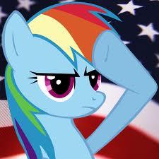 File:FANMADE Rainbow Dash salute.jpg