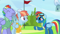 "Rainbow Dash ""so... good... to see you"" S7E7"