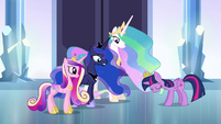 Twilight Sparkle disappointed S4E25