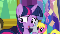 "Twilight very nervous ""I do have a plan"" S7E1"