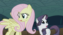 Fluttershy gets wings back and Rarity gets horn back S2E01