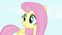 Fluttershy looking S4E18