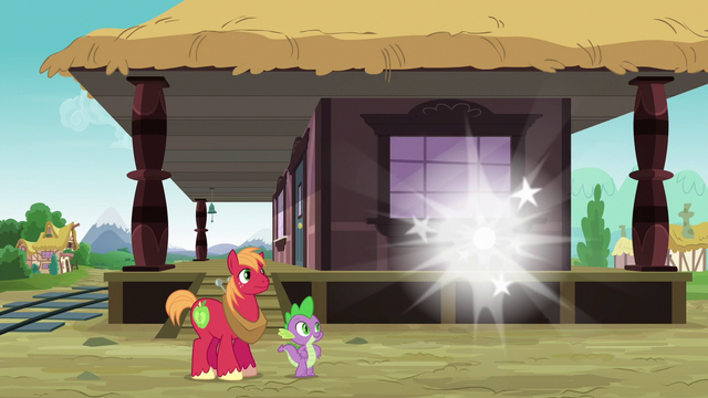 File:Spike and Big Mac watch Discord disappear S6E17.png