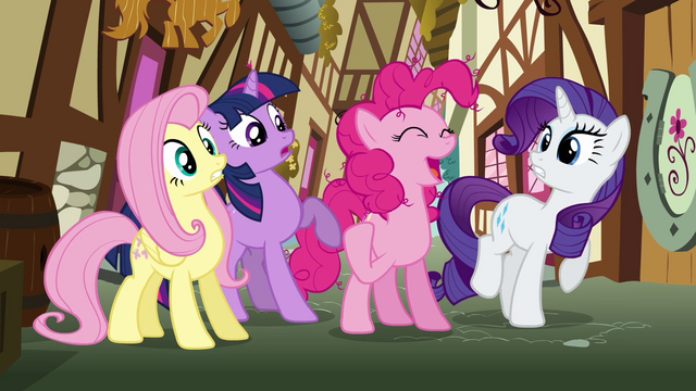 File:Pinkie Pie 'We'll deliver the care package to Rainbow Dash' S3E07.png