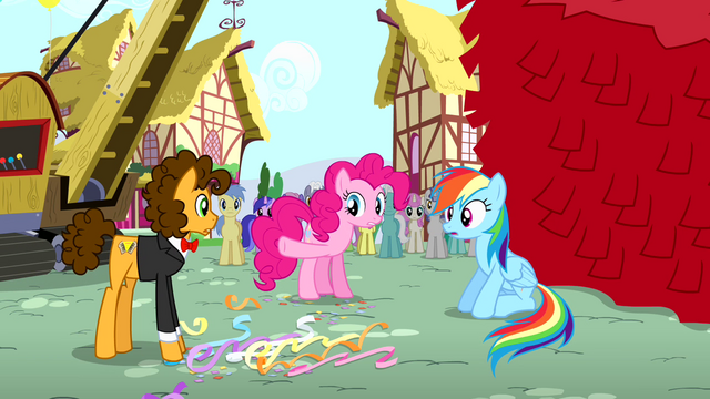 File:Pinkie Pie gives victory to Cheese Sandwich S4E12.png