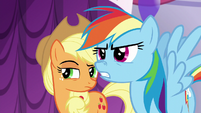 Rainbow snorts angrily S5E14
