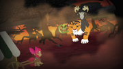 Apple Bloom meets the chimera S4E17.png