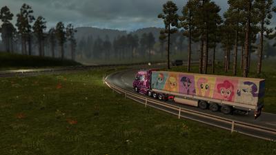 FANMADE ETS2 Scania T Twilight Skin 5