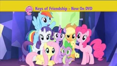 My Little Pony - Keys of Friendship DVD Commercial