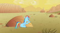 "Rainbow Dash ""I'm trying to save Spike!"" S1E21"