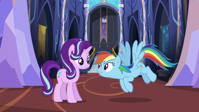 """File:Rainbow Dash """"do some location scouting"""" S6E21.png"""