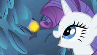 Rarity spots what appears to be a gem S1E19