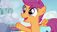"""Scootaloo """"Rainbow Dash's time in Ponyville"""" S7E7"""