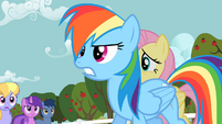 Rainbow Dash frustrated S02E15