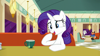 "Rarity ""I realize that makes me sound like an old mare"" S6E9"
