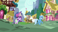 Starlight and Trixie return to Ponyville S7E2
