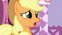 "Applejack ""I don't think they liked"" S7E9"