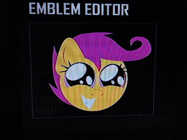 File:FANMADE Scootaloo Squee Black Ops 2 Emblem.jpg