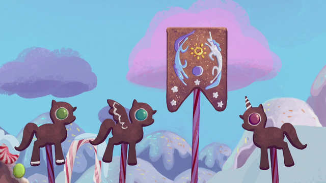 File:Gingerbread ponies raise the Equestrian flag S5E20.png