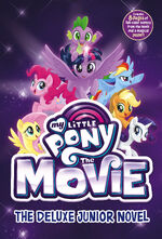 MLP The Movie The Deluxe Junior Novel cover