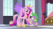 Princess Cadance trusting Spike S5E10.png