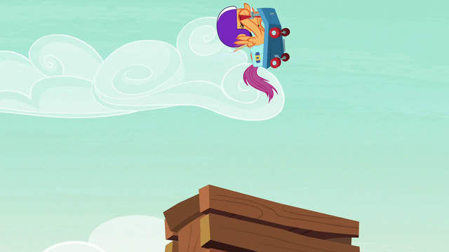 File:Scootaloo flies off the ramp pointed upward S7E7.png