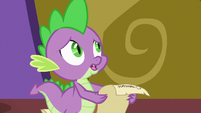 "Spike ""knock on wood"" S7E3"