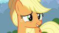 Applejack apologizing to Fluttershy S4E16.png