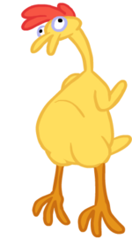 Canterlot Castle chicken