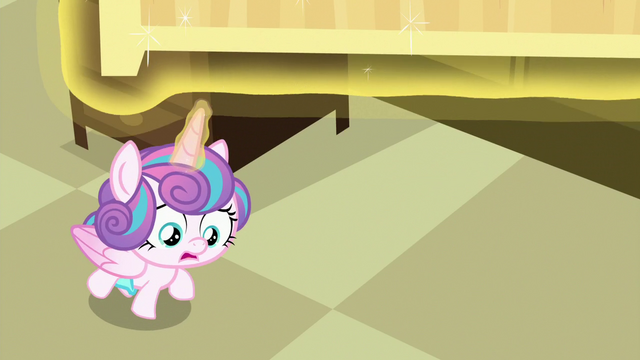 File:Flurry Heart looking under First Base's bed S7E3.png