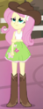 Fluttershy rodeo outfit ID EG2