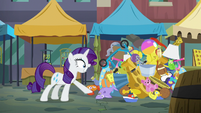 "Rarity ""and she likes a crack?!"" S6E3"