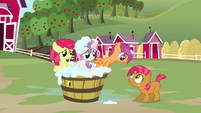 Scootaloo 'we were the reason it was headed into the lake' S3E04