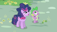 Twilight and Spike Surprised S01E01