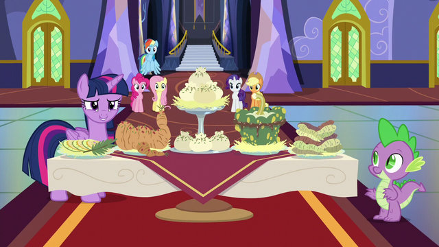 File:Twilight with a table of foods S5E11.png