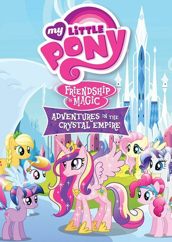 """File:""""Adventures In The Crystal Empire"""" Region 1 DVD Cover.jpg"""