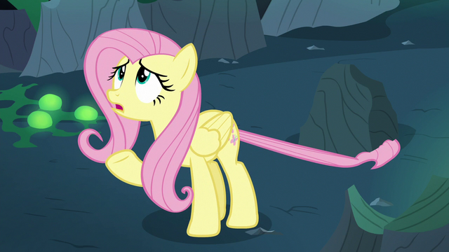 """File:Fluttershy Changeling """"but what?"""" S6E26.png"""