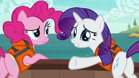 "Rarity ""no idea you had such distaste"" S6E22"