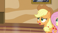 Applejack and Fluttershy approach Gladmane S6E20.png