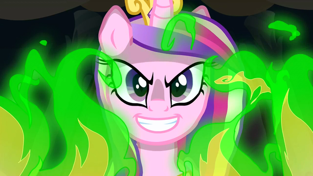 File:Chrysalis in her Cadance disguise S2E25.png