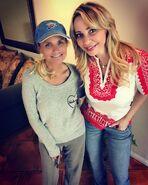 Kristin Chenoweth and Tara Strong