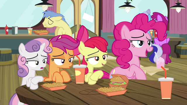 "File:Pinkie Pie ""never mind, they're gone"" S4E15.png"